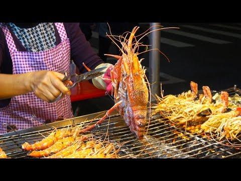 Taiwanese  Street Food Liuhe Tourist Night Market