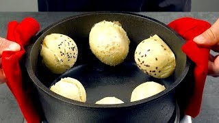 Stick 6 Rolls To The Side Of A Pot & Wait 10 Minutes – Amazing!