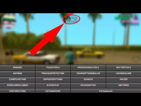 gta vice city cheat codes video download
