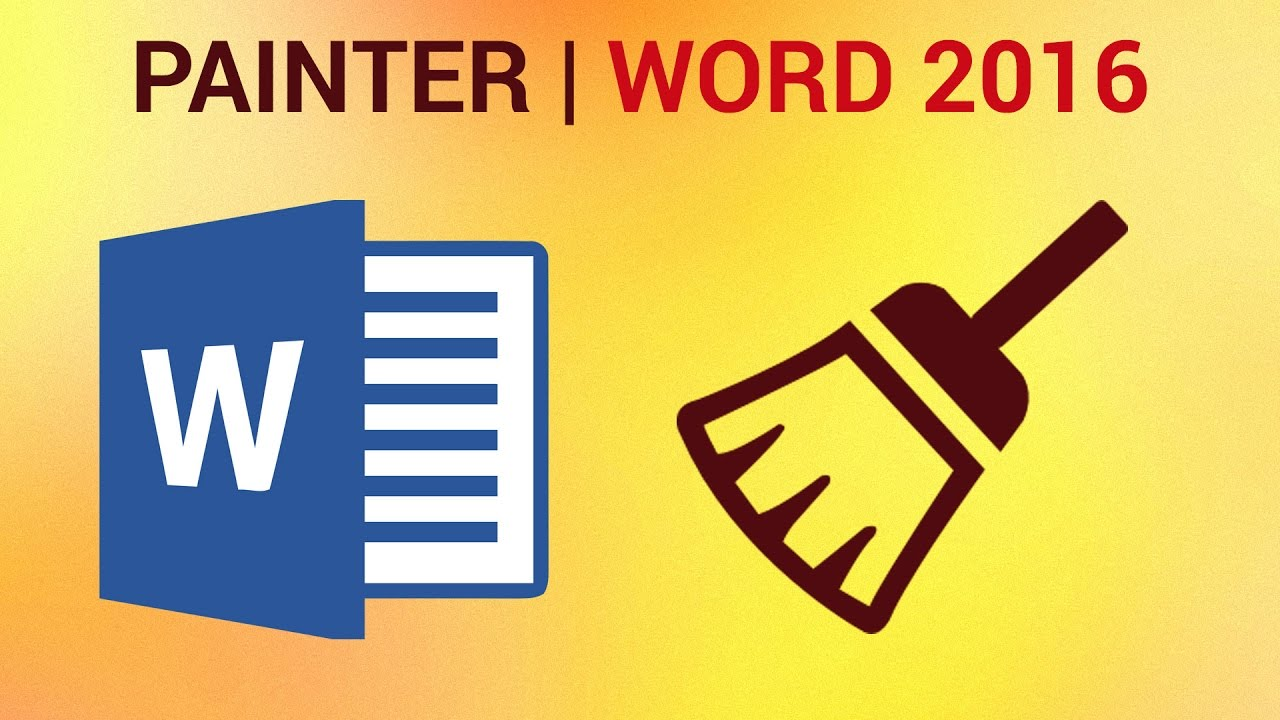 how to copy formatting in word 2016 format painter youtube
