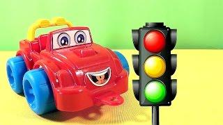 Мультики про машинки: Машинка Макси и светофор. Мультфильмы с машинками для детей