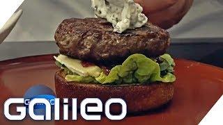 Koch vs. Wissenschaft mit 3D-Drucker: Wer macht die besten Burger? | Galileo | ProSieben