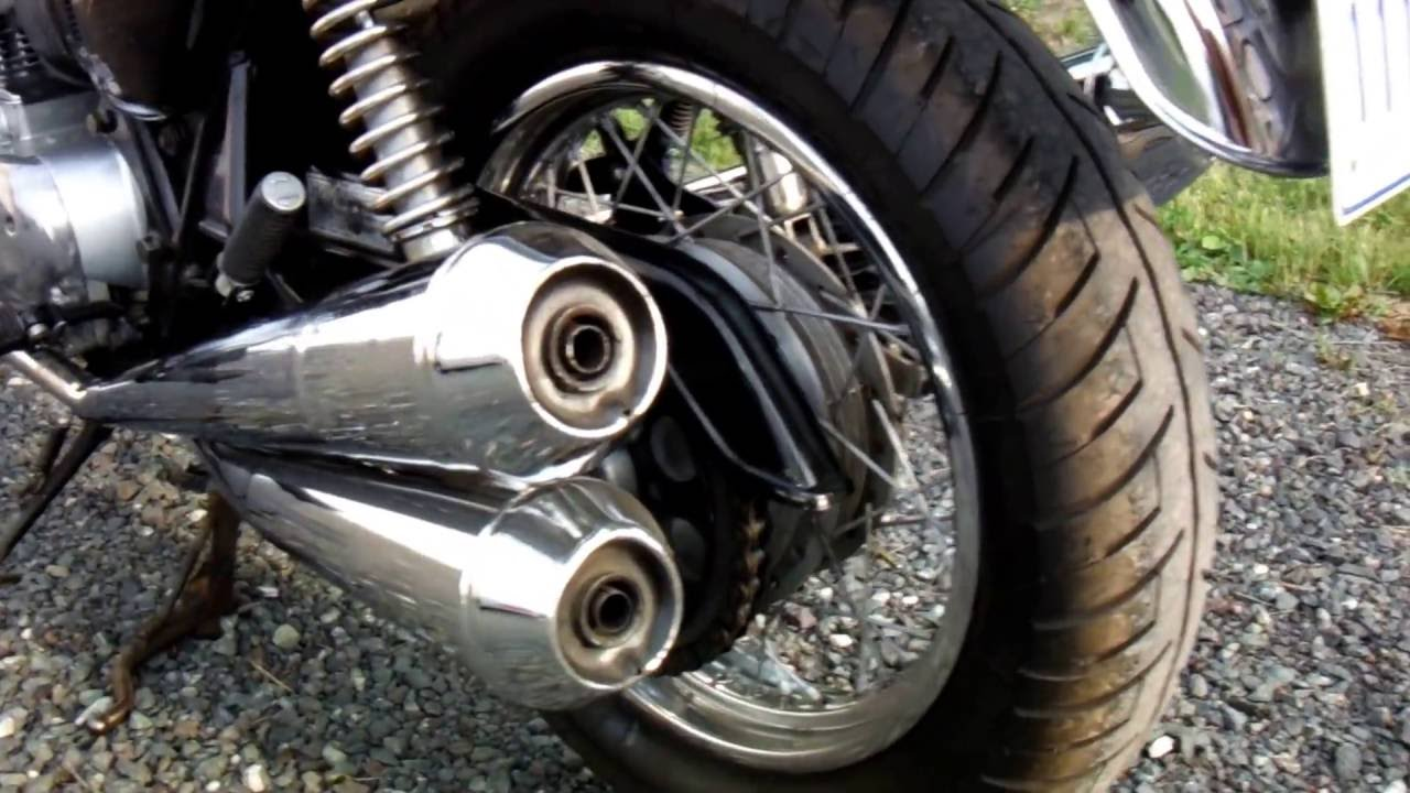 My Restored 1978 Honda CB750 K8 Original Seatexhaust And Excel Black Paint