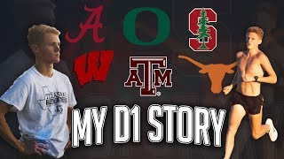MY D1 STORY: Cross Country/Track