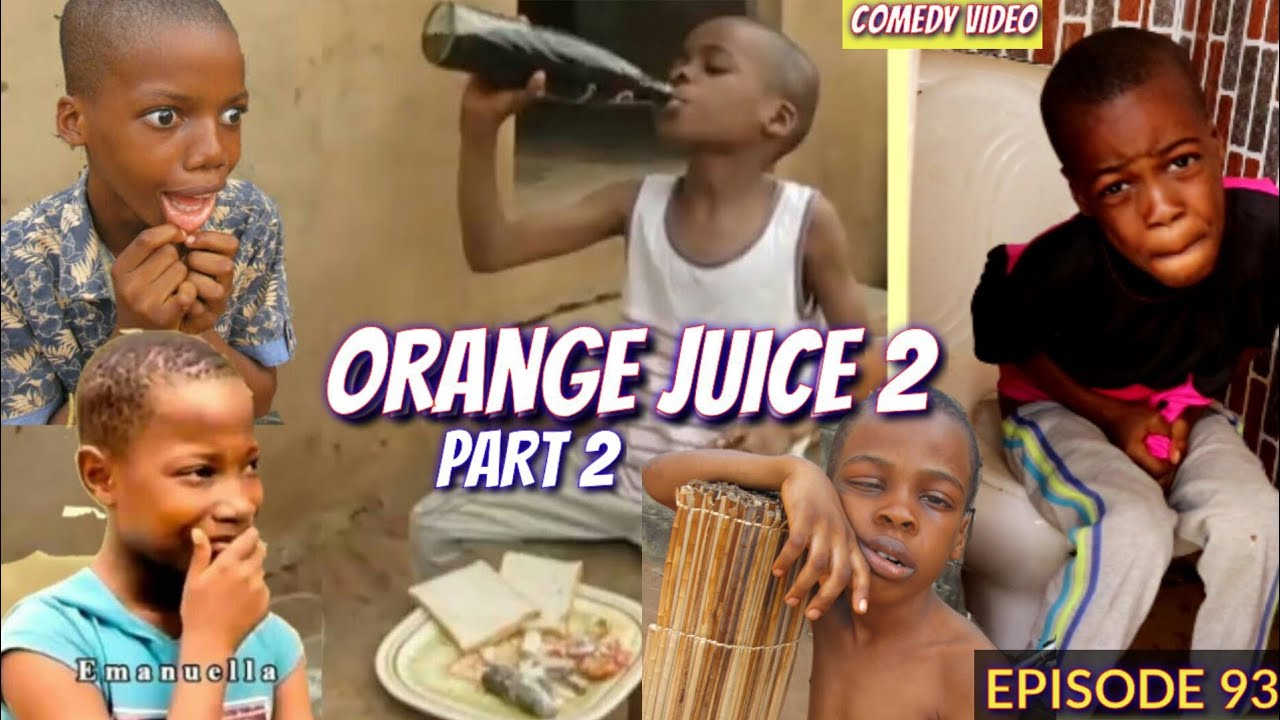 ORANGE JUICE Part 2 (Mark Angel Comedy)(Izah Funny Comedy) (Episode 93)