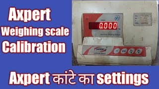 Weighing scale calibration||expert balance settings||solar fence guard||calibration