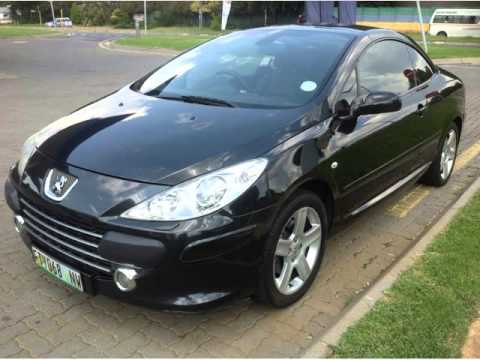 2007 peugeot 307 cc 2 0 auto for sale on auto trader south africa youtube. Black Bedroom Furniture Sets. Home Design Ideas