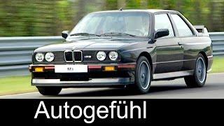 First ever BMW M3 1985 - E30 3-Series Sound street u0026 racing 3er BMW M Heritage