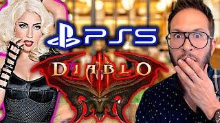 Lady Gaga fan de Bayonetta, un brevet PS5, Diablo Immortal énerve les fans...