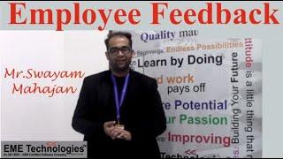 Employee Feedback   Swayam Mahajan - CAD - CAM Trainer   EME Technologies