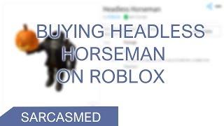 Comprar HEADLESS HORSEMAN en ROBLOX! ¡Halloween 2016!