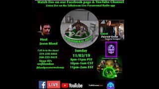 Paranormal Soup Ep 201 guest Patrick Cross