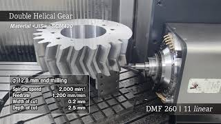 DMF 260 | 11 linear 「ダブルヘリカルギヤ / Double helical gear」