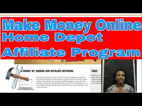 Review Make Money With Home Depot Affiliate Program