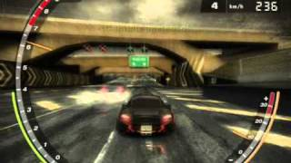 nfs most wanted - aceleracion