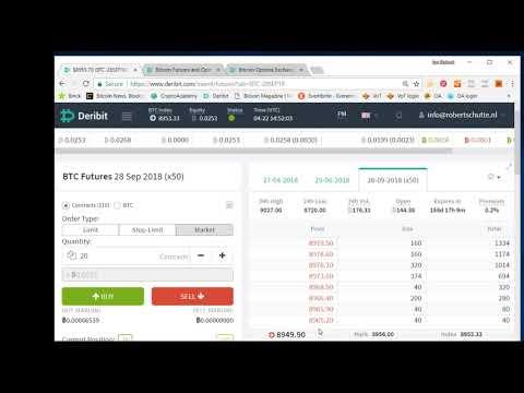 Deribit Tutorial: How To Trade Bitcoin Futures