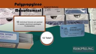 Polypropylene Monofilament Surgical Sutures
