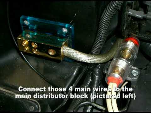 Battery Relocation Wiring Diagram Well Pump Gsx Youtube