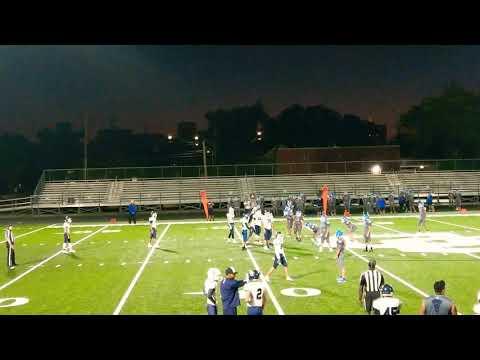Central Catholic High School San Antonio JV Football - Punter First Down!
