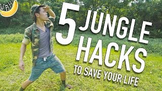 5 Jungle Hacks To Save Your Life #JungleLife