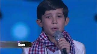 Eddy canta Déjame Llorar - La Academia Kids