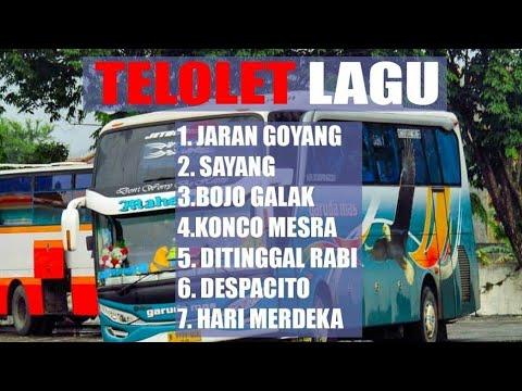UNIK!!! KLAKSON TELOLET LAGU, BIS INDONESIA