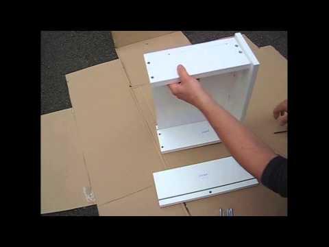 Montage de tiroirs meubles sur mesure youtube - Fabriquer un tiroir en contreplaque ...