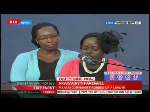 General Nkaissery's daughter remembers her father