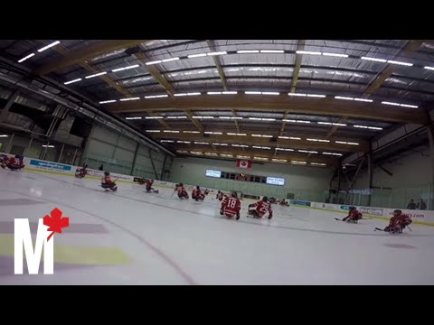 What It Feels Like To Play With Canada's National Men's Sledge Hockey Team