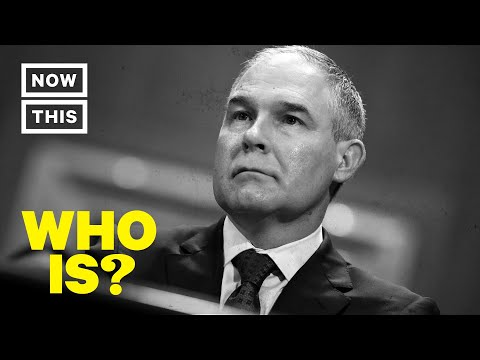 Who is Scott Pruitt? Narrated by Sasheer Zamata | NowThis