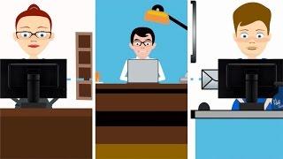 HOTE CONNECT - Présentation vidéo du concept PRESS ON REC (film animation annecy)