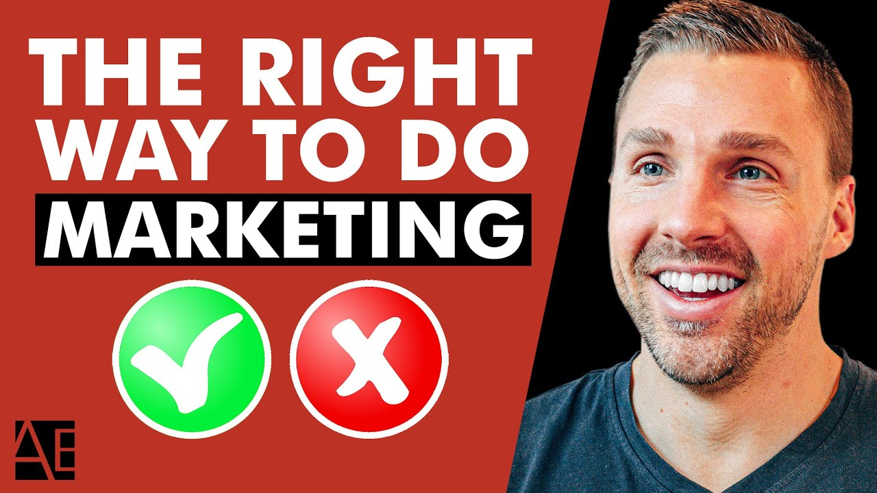 How To Market Your Business The RIGHT Way!   Adam Erhart - YouTube