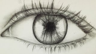 How to draw an eye for beginners! | Alpha Art