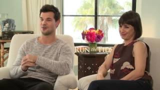 Twilight Star Taylor Lautner talks fatherhood. He plays a father to...