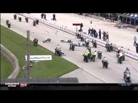 Road America Supersport crash