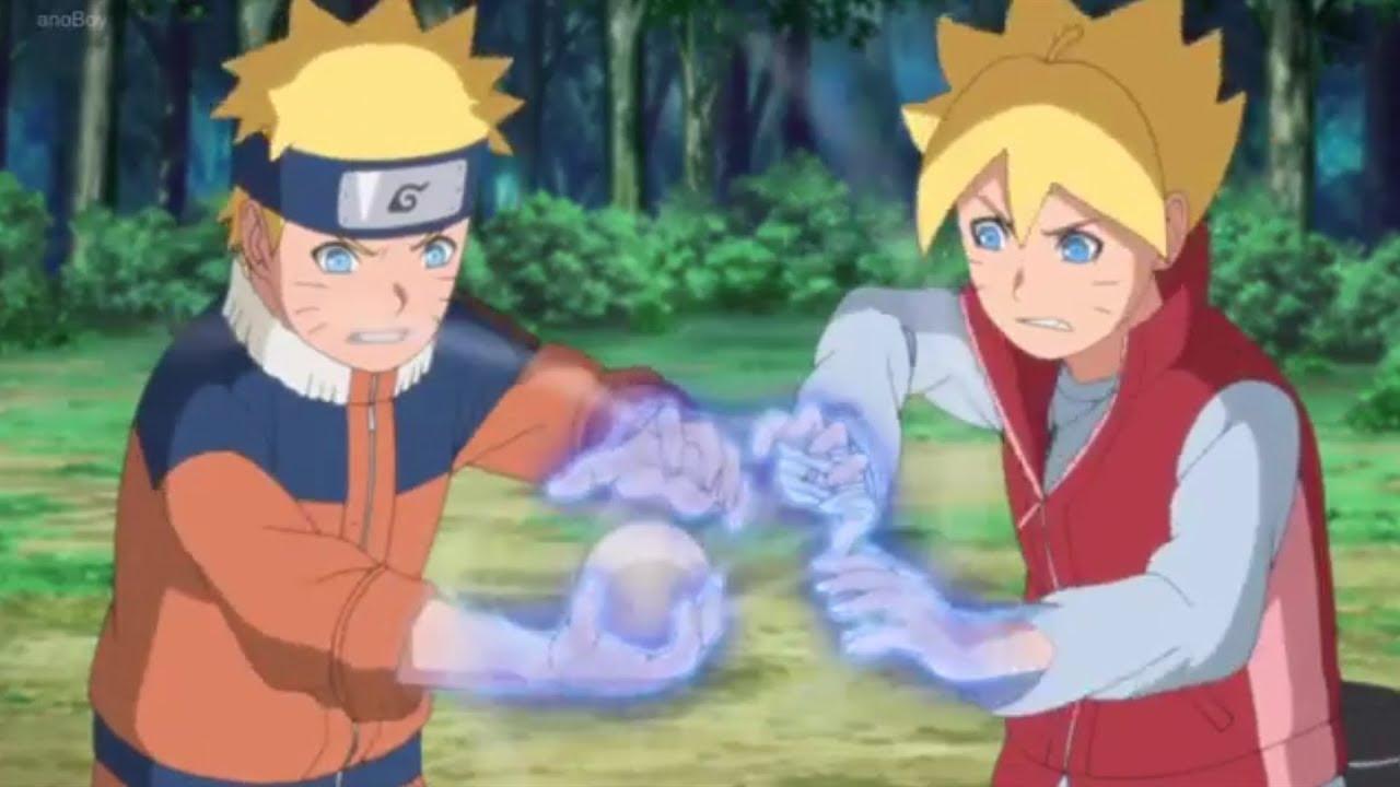 35+ Trend Terbaru Boruto Dan Naruto Kecil Vs Urashiki ...