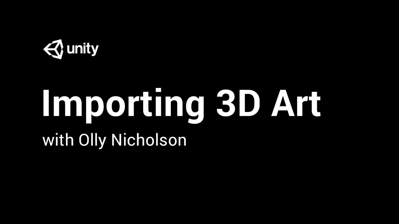 Importing 3D Art Into Unity - Mesh Normal Calculation [3/10] Live 2017/12/20