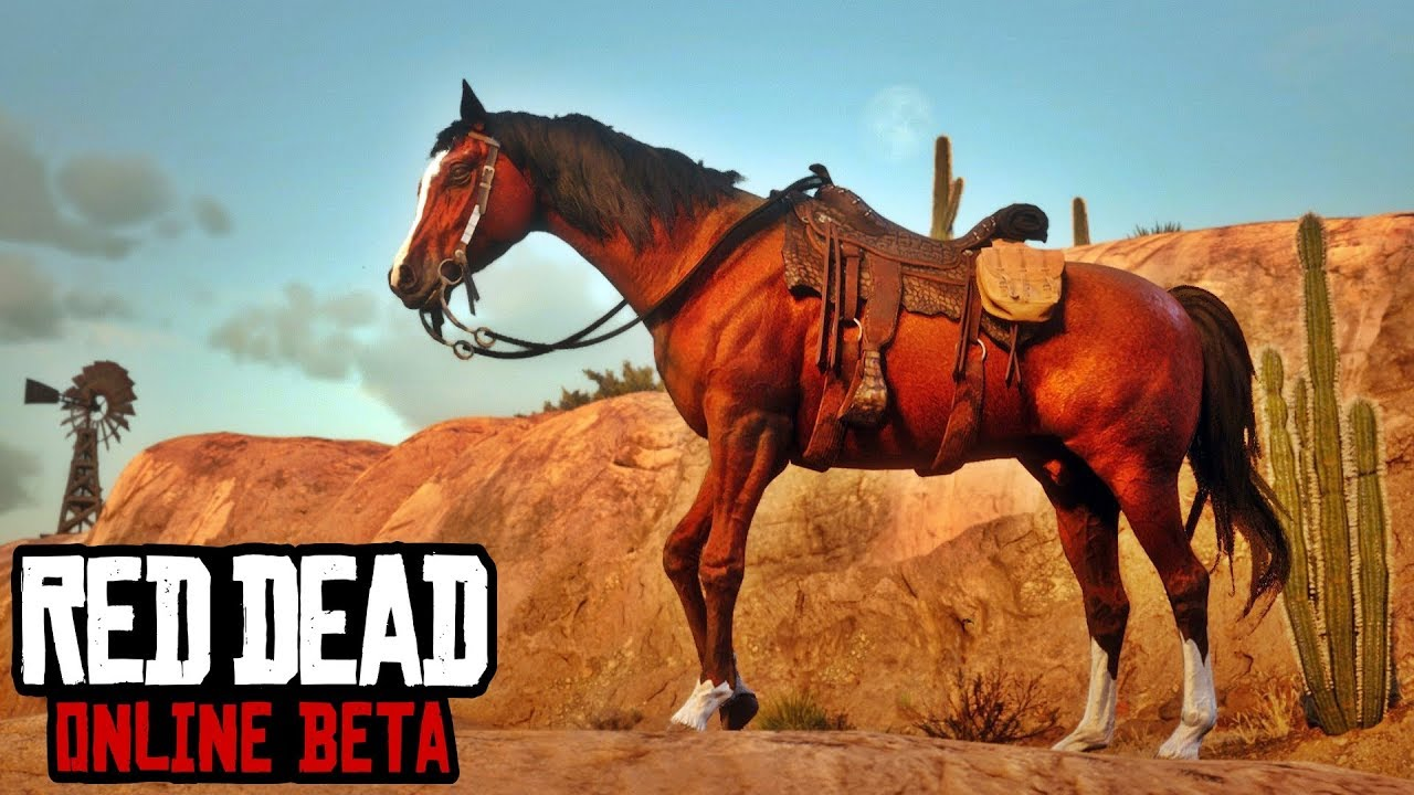 How To Unlock Red Chestnut Arabian Horse & Alligator Skin Ranch Cutter  Saddle - Red Dead Online FREE