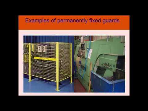 Manufacturing webinar series - 1 Machine guarding