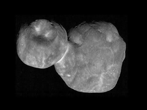 The space 'snowman' at the edge of our solar system is actually two lumpy pancakes