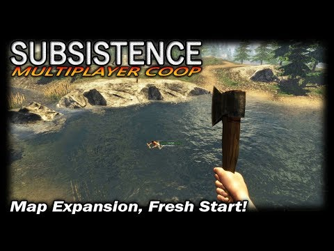Map Expansion, Fresh Start! | Subsistence COOP Multiplayer Gameplay | EP 1