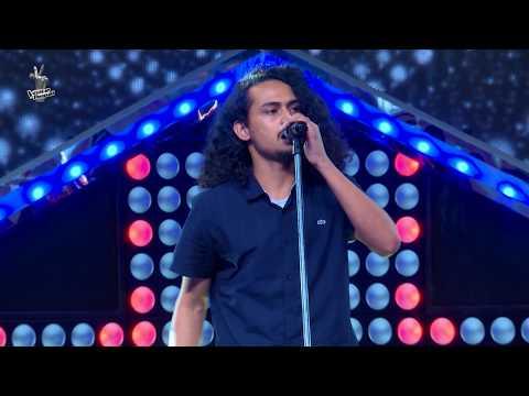 """Kushal Acharya - """"Sundarta Ko Timi Udaharan Hou"""" - Blind Audition - The Voice of Nepal 2018"""