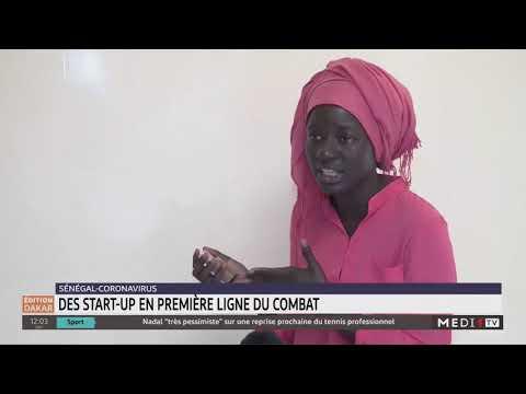 Coronavirus: des start-up en première ligne du combat au Sénégal