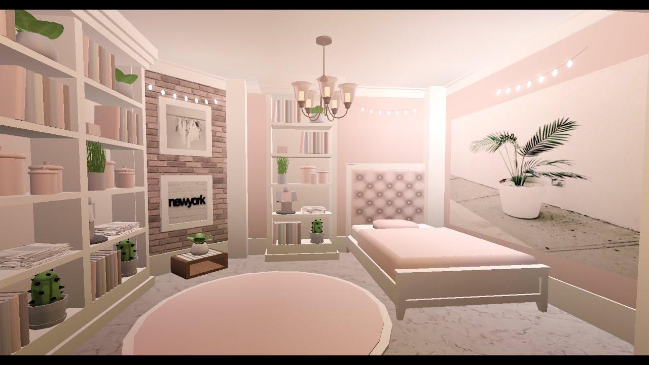Bloxburg Pink Aesthetic Room Itz Daxu Youtube Tiny House Bedroom Luxury House Plans Tiny House Layout Bloxburg bedroom ideas pink