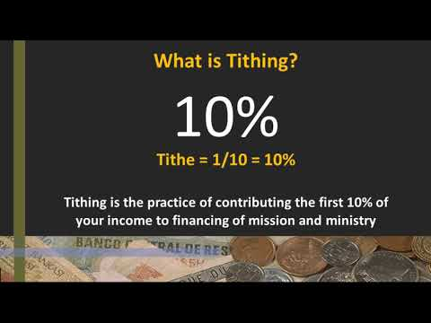 Generosity - Tithing and Offering