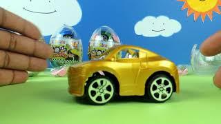 Surprise Eggs !!! Toys !!! Kids car