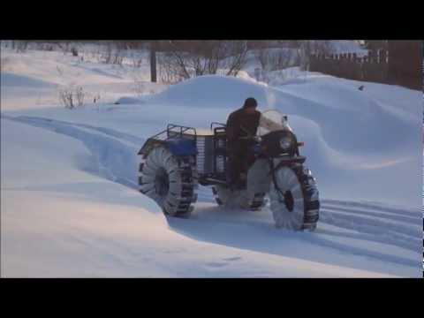 Грузовой трицикл с кабиной (Обзор) - YouTube