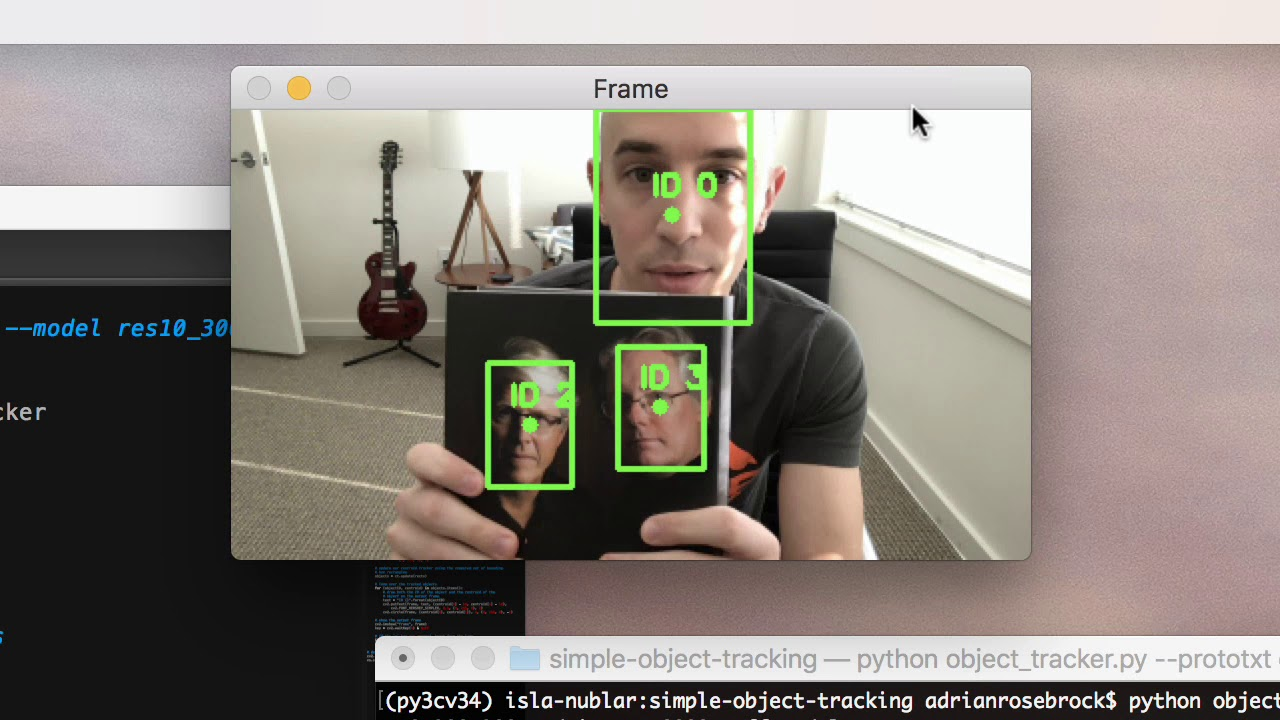 Simple object tracking with OpenCV - PyImageSearch