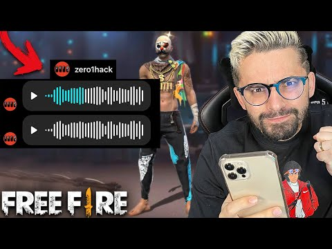 DEPOIS DO PIX O HACK ME ENVIOU UM AUDIO NO FREE FIRE e...