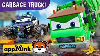 appMink cars cartoons – Superhero Fun Vehicles Save appMink Town